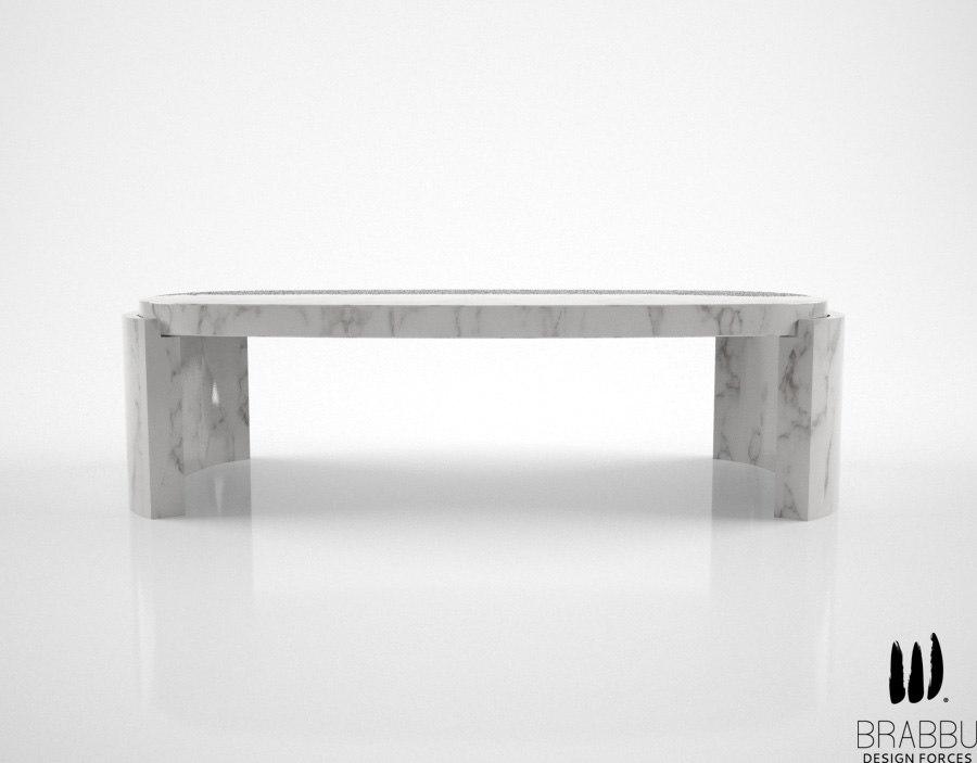 3d brabbu tacca center table