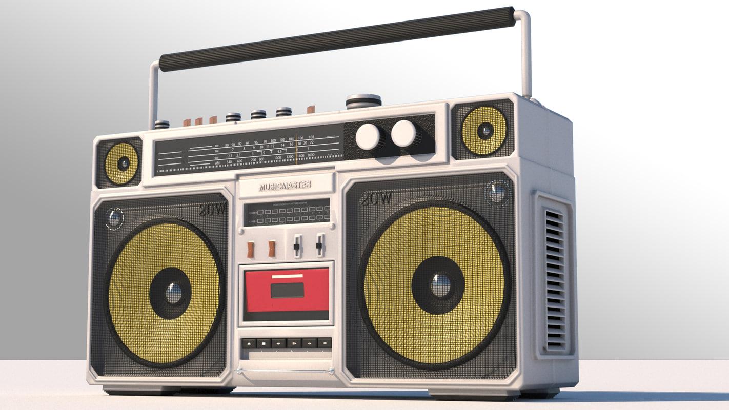 Vintage OLDSKOOL 80's Panasonic boombox GHETTO BLASTER  |80s Boombox