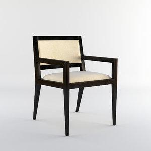 3d bolier domicile upholstered model