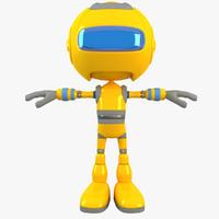 max robot modelled