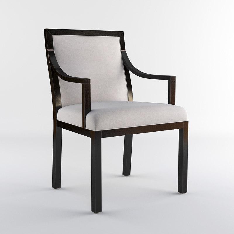 bolier kata upholstered 3d model