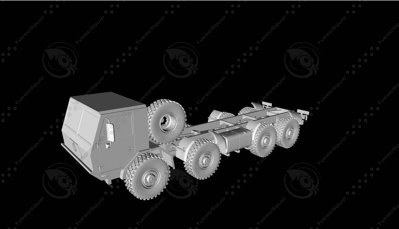 3d model of tatra 815-7