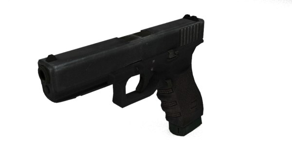 3d pistol games model