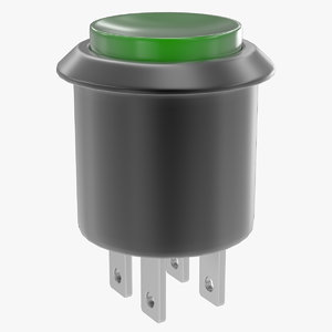 pushbutton switch 2 3d model
