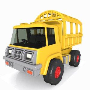 3d truck toon heavy