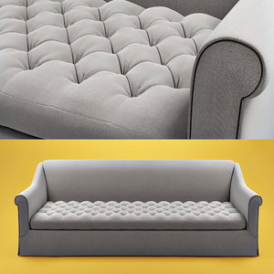 3d grand sablon sofa