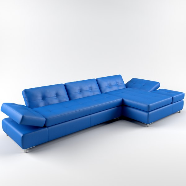3d model humphrey sofa