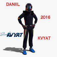 c4d daniil kvyat 2016