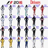 drivers formula 1 3d 3ds