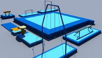 fbx gymnastic equipment gym