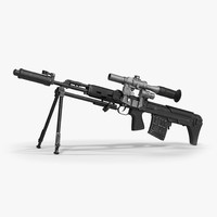 Bullpup Sniper Rifle Dragunov SVU