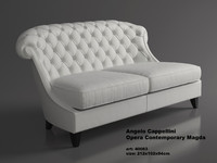 leather sofas angelo cappellini 3d model