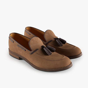 3d loafers brown