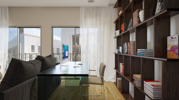 3d apartment interior 01