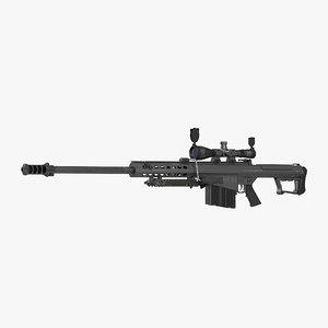 max sniper rifle barrett m107
