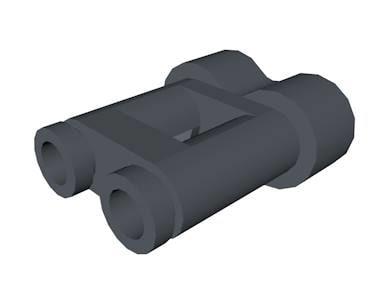 3d lego binocular piece model
