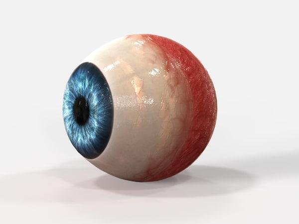 human eye 3d x