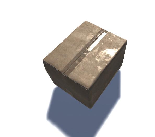 carton box 3ds