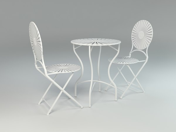 bistro set table chairs max