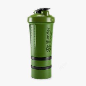 3d blender bottle model