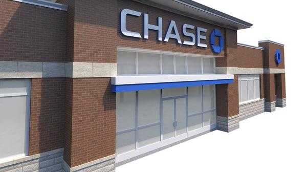 chase bank 3d model