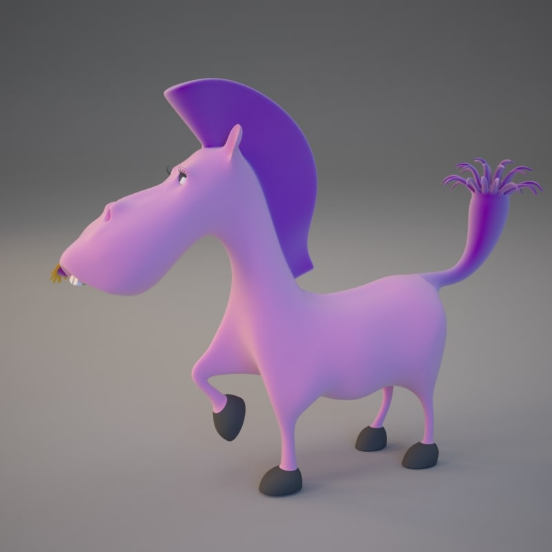 cute horse max free