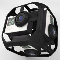 Virtual Reality Camera Rig
