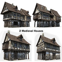 2 Medieval Houses