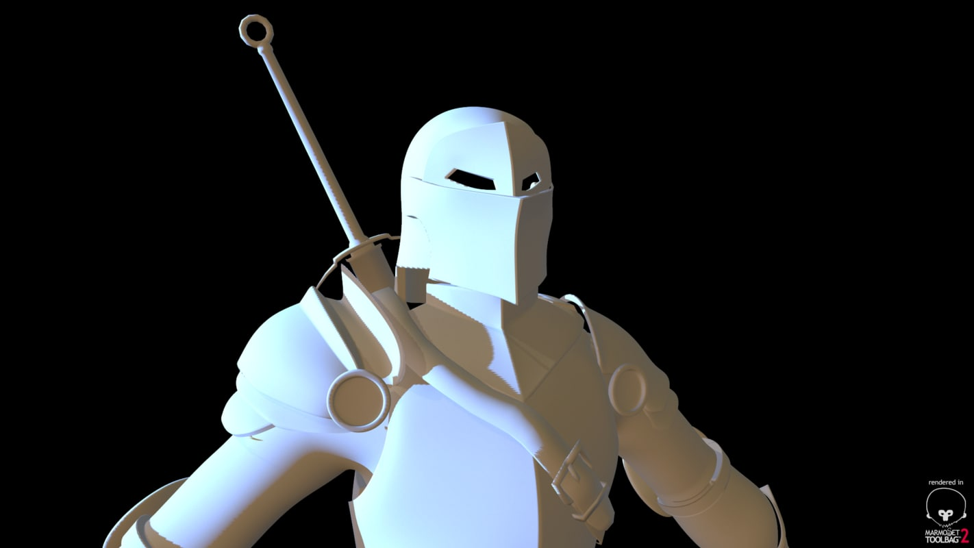 armor 3d fbx