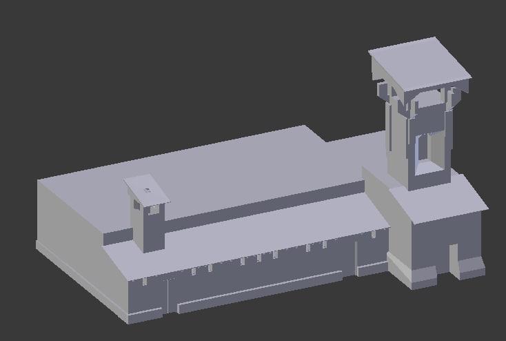 fbx mesh building elements
