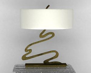 signature light 3d model
