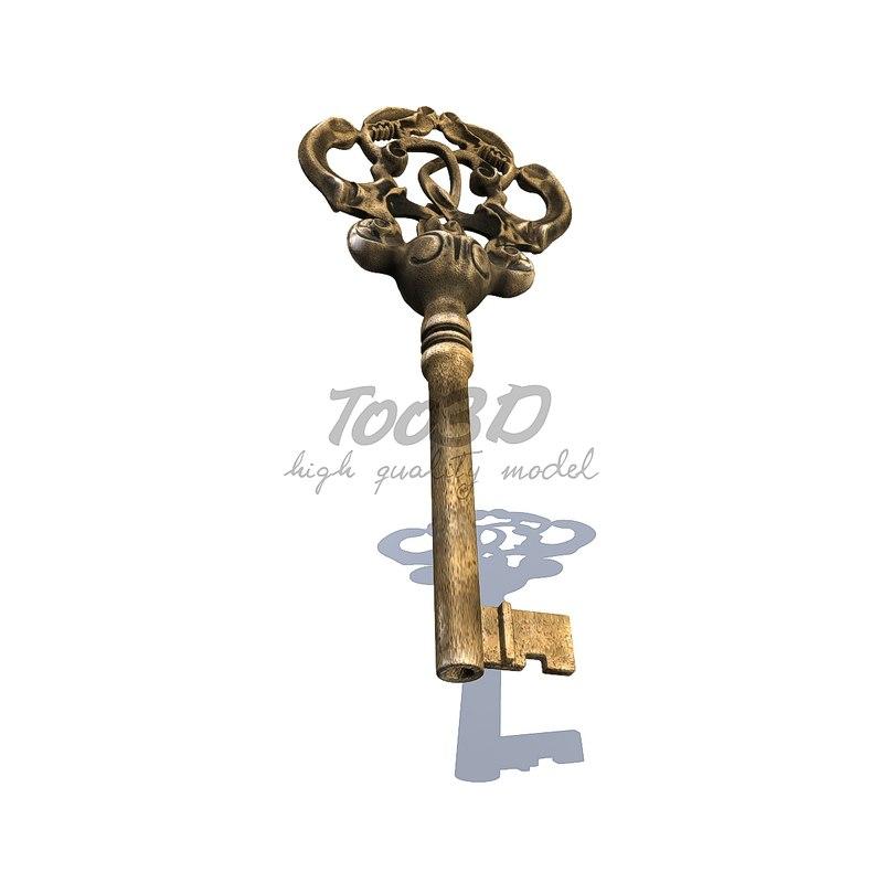 3d max baroque key