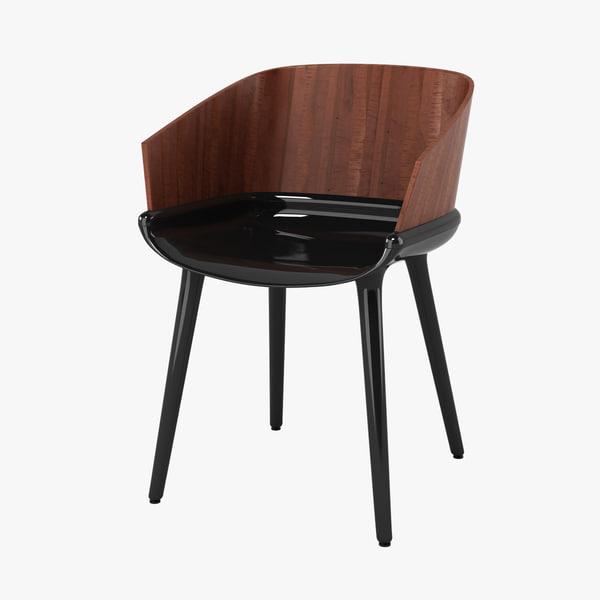 3d model magis cyborg ply chair