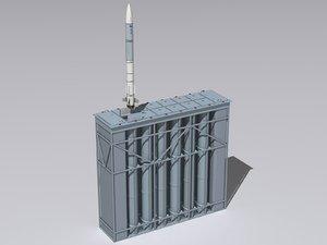 3d 3ds shtil-1 shtil missile