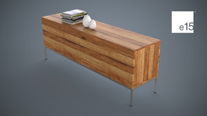 sideboard storage contemporary 3d max