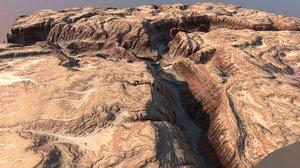 grand canyon 3d max