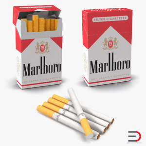 cigarettes marlboro 3d 3ds
