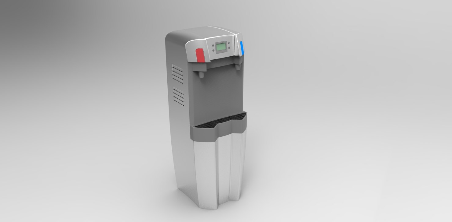 3d model designed water dispenser