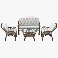 Roma Rattan Furniture Set