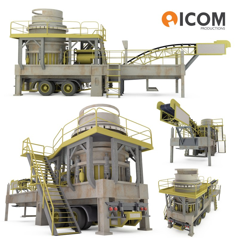 industrial mobile crushing plant max