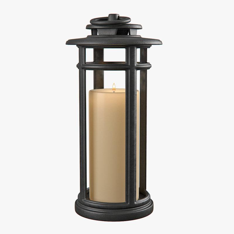lantern lighting 3d model