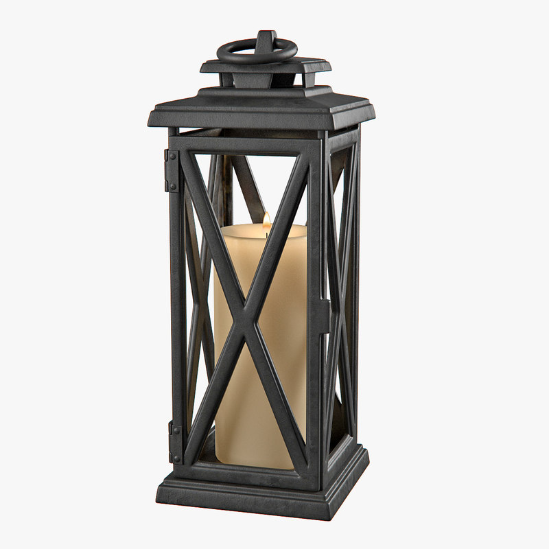 lantern lamp lighting 3d max