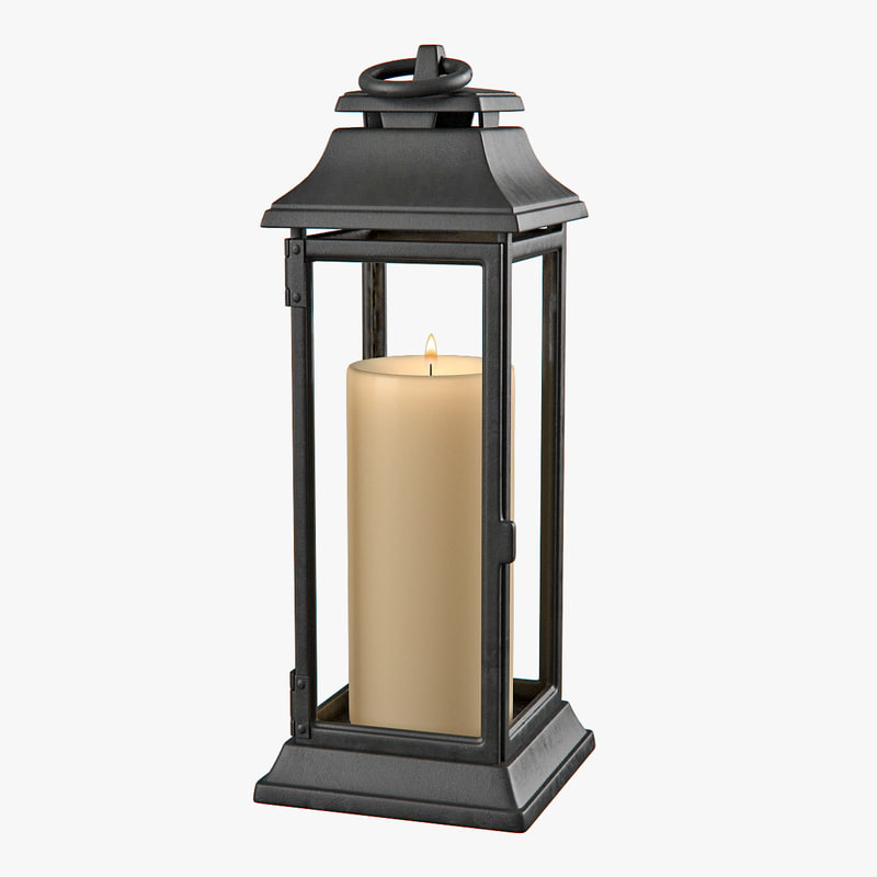 3d lantern lighting model