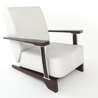3ds luxury lounge chair