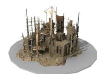 ancient buildings 3d model