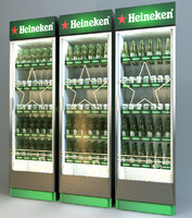 Beer fridge for bar