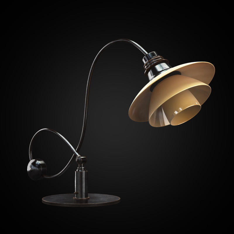 ph22 piano lamp interior max
