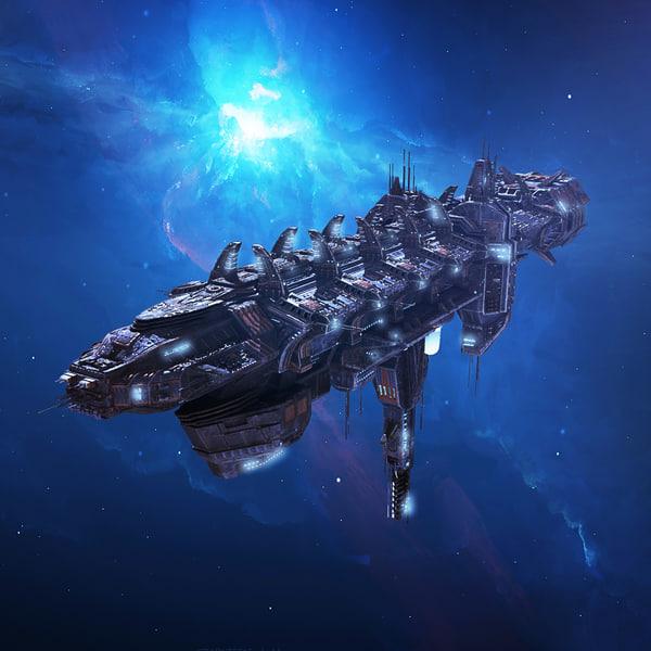 max spacecraft battleship scifi