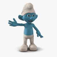 smurf pose 3 3d model