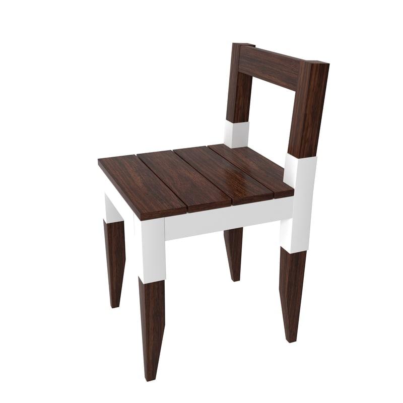 helvey chair 3d model